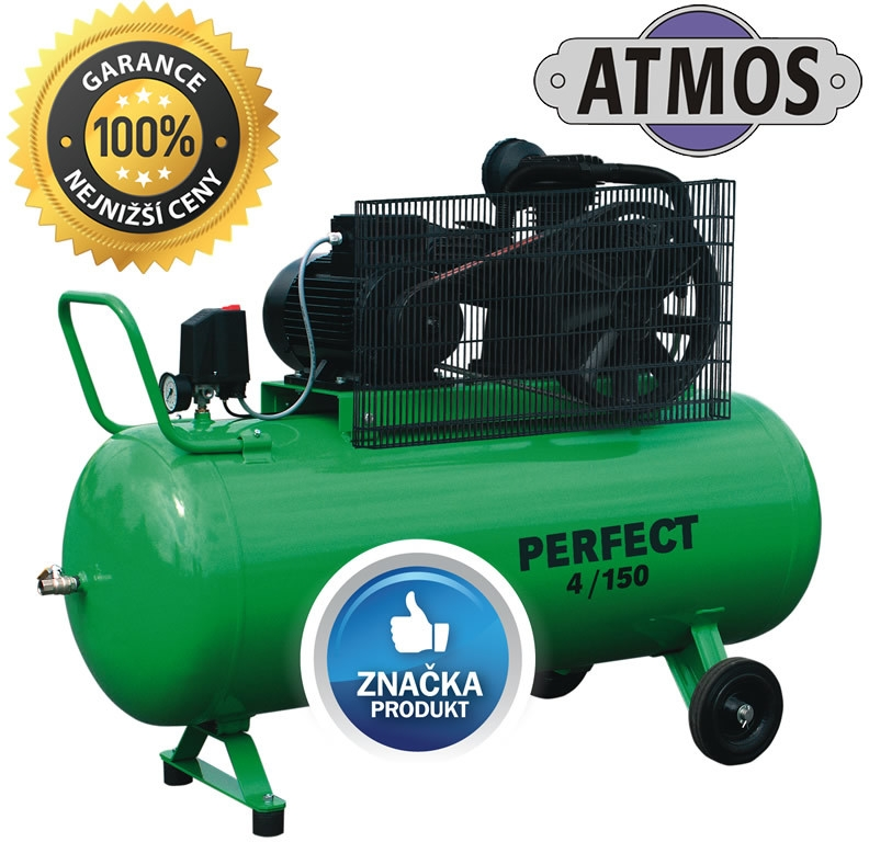 pístový kompresor ATMOS Perfect 4/270 ; P40270